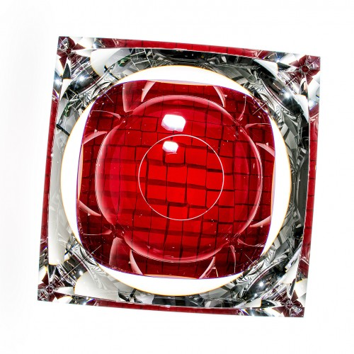 玻璃建筑—红色 Glass Architecture-Red