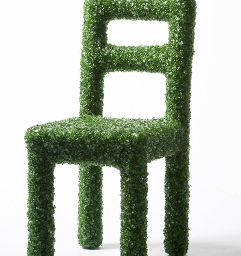"""破损的瓶子""系列—椅子 Breaking the bottle: Chair"