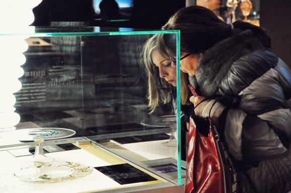 Venini客人Gabriella Chimento与 Giulia Chimento一行来访</br>The Guest of VENINI Visited SHMOG
