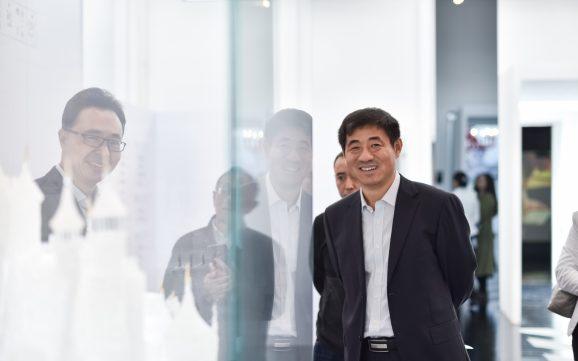 国家文物局副局长,中国博协理事长关强到访上海玻璃博物馆</br>Deputy Director of SACH Guan Qiang Visited SHMOG