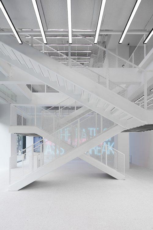 展厅一楼及二楼空间