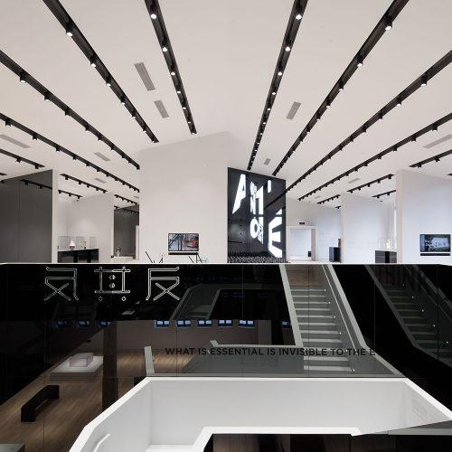 设计新馆楼梯 Design Wing Stairs