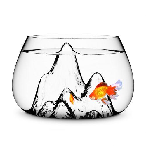 山水鱼缸</br>Glasscape