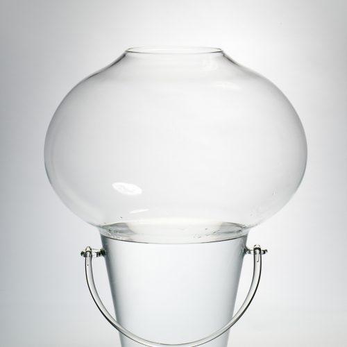 桶状吹制花瓶/桶状吹制花瓶Blowing