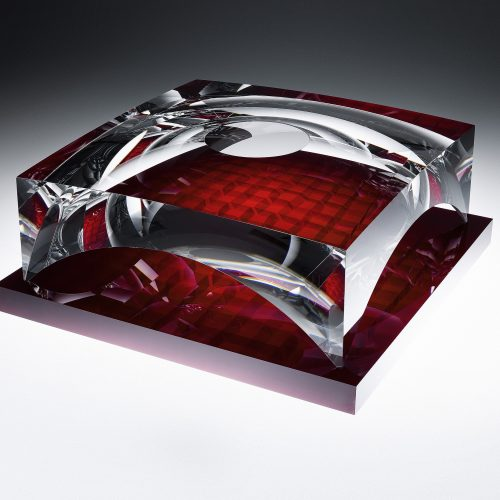 玻璃建筑—红色</br>Glass Architecture – Red