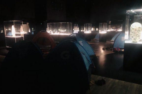 博物馆夜宿历险记:馆长下班了,一起冒险吧!</br>MUSEUM NIGHT CAMP