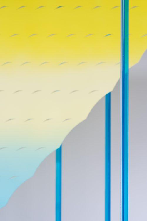 毕蓉蓉《反复纹样的彩色片》